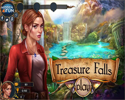 Treasure Falls game