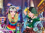 Princesses Street Dancers game