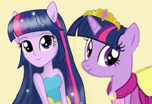 play Twilight Sparkle Fashion Day