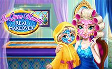 play Ice Queen Mommy Real Makeover