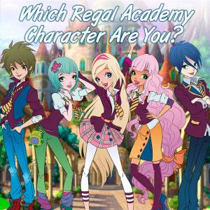 Regal Academy: Which Regal Academy Character Are You? Quiz game