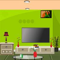 play Pretty Green House Escape