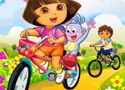 Dora And Diego Race game