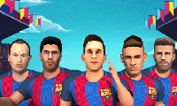 Fc Barcelona: Ultimate Rush game