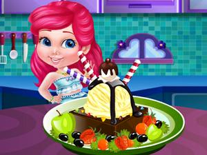 play Princess Cooking Ice Cream