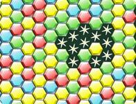 Bricks Breaking Hex game