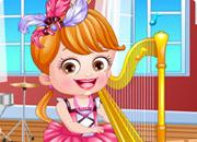 Baby Hazel Musician Dressup game