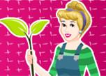 Princesses Go Green Clean Up game
