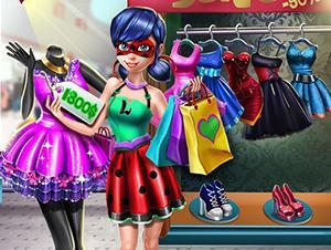 play Ladybug Realife Shopping