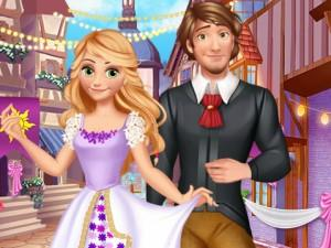 Rapunzel Medieval Wedding game