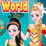 Elsa Travel Around The World game