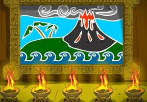 Escape Cursed Island game