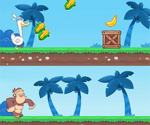 play Monkey Duck