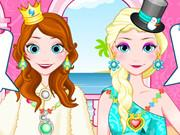 Elsa And Anna Jewellery game