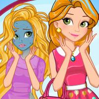 play Rapunzel Magic Fashion Makeover