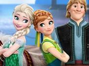 Disney Frozen Memory game