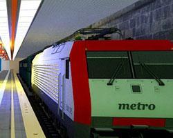 Getaway Subway Train game