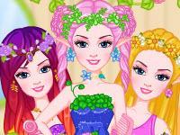 Barbie Fairy Princess Hairstyles game