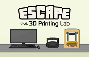 Escape The 3D Printing Lab game