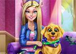 Barbie Puppy Potty Training game