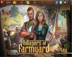 Villagers Of The Farmyard game