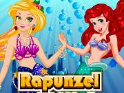Rapunzel Mermaid Makeover game