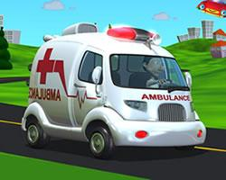 Cartoon Ambulance Van game