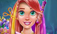 Little Mermaid Hair Salon game
