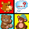 Sweet Bears Memory Match game