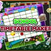 School Timetable Maker game