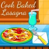 Cook Baked Lasagna game