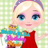 Baby Elsa Birthday Picnic game