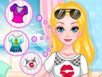 play Barbie Summer T-Shirt Makeover