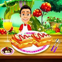 Cooking Breakfast Sandwich game