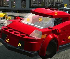 Lego Hidden Car Rims game