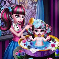 Monster Baby Wash game
