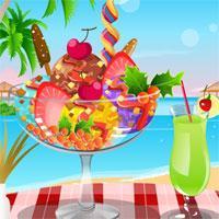 Ice Cream Sunday Decoration game
