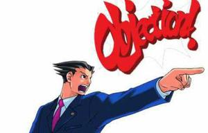 Phoenix Wright Objection Tool game