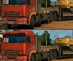 Kamaz Differences game
