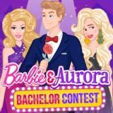 Barbie & Aurora Bachelor Contest game