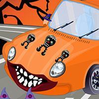 play Hello Kitty Halloween Car Wash