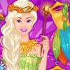 Enjoy Barbie Flower Fairy game