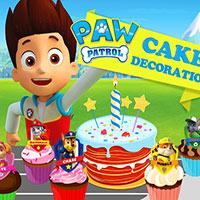 Paw Patrol Cake Decoration game