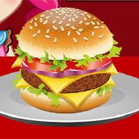 Mcdonalds Burger Cooking game