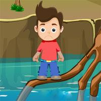 Small Boy Rescue From River game