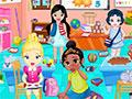 Little Princesses In Play School game