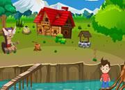 Small Boy Rescue From River Escape game