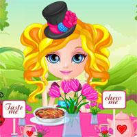 Baby Tea Party game