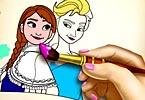 Ice Kingdom Coloring Book game