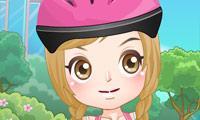 Roller Skating Girl Dress Up game